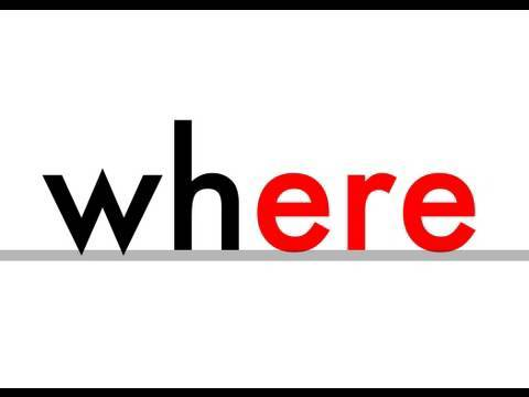 wh - Phonics - where, when, white