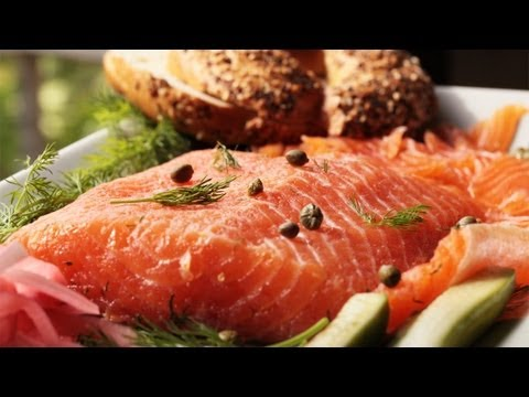 Scandinavian Gravlax (Salmon) Make It (How to) || KIN EATS