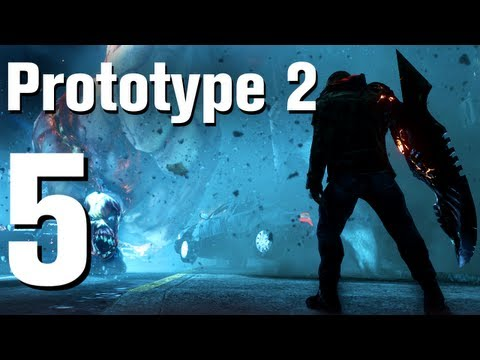 Prototype 2 Walkthrough Part 5 - Hunting [No Commentary / HD / Xbox 360]