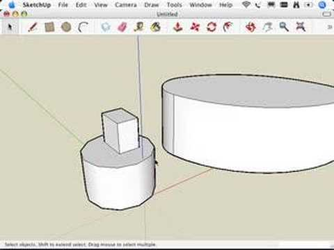 SketchUp: Selecting what you mean to select