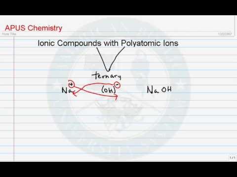 Ternary Compounds