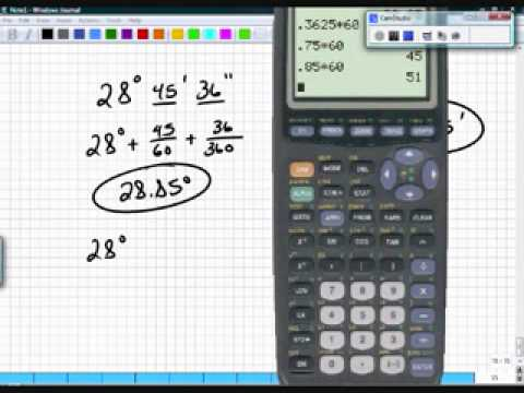 Precalculus Section 6.1 Part 1