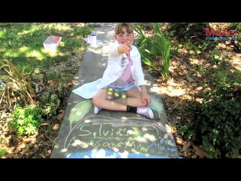Sylvia's Super Awesome Mini Maker Show: Sidewalk Chalk