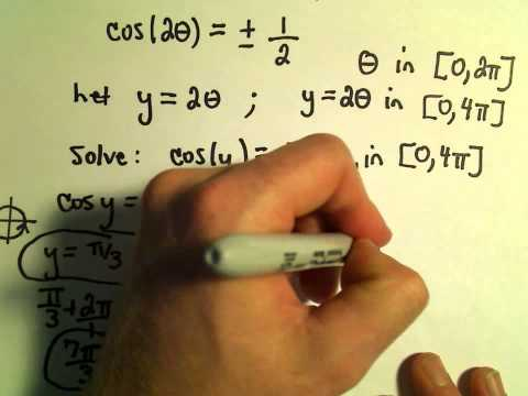 Solving Trigonometric Equations with Coefficients in the Argument - Example 1