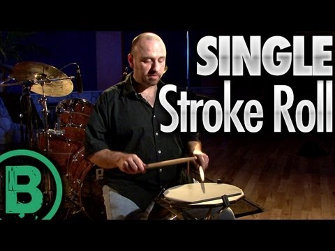 Single Stroke Roll - Drum Rudiment Lessons