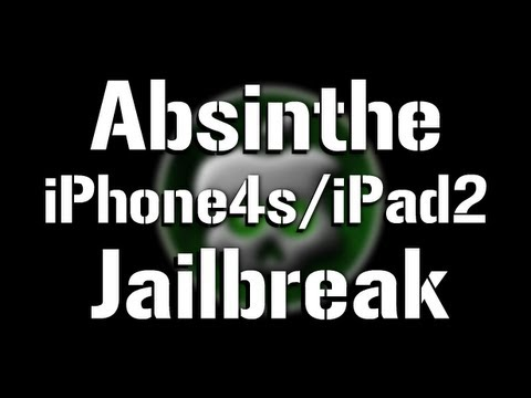 NEW Absinthe Jailbreak 5.0.1 iPhone 4s & iPad 2 Untethered