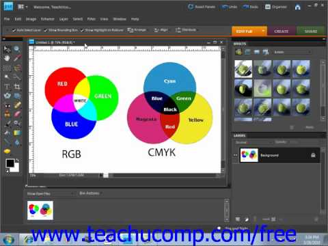 Photoshop Elements 9.0 Tutorial Color Management Adobe Training Lesson 5.3