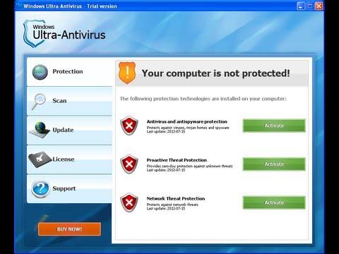 Remove Fake Windows Ultra Antivirus by Britec