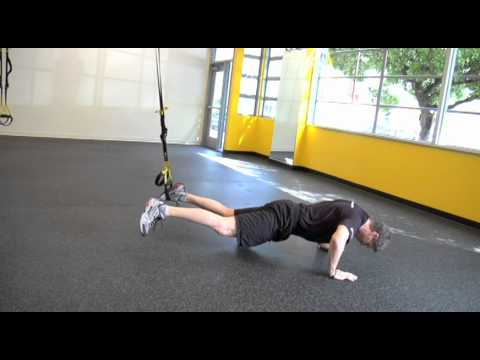 TRX Lunge to TRX Push-up