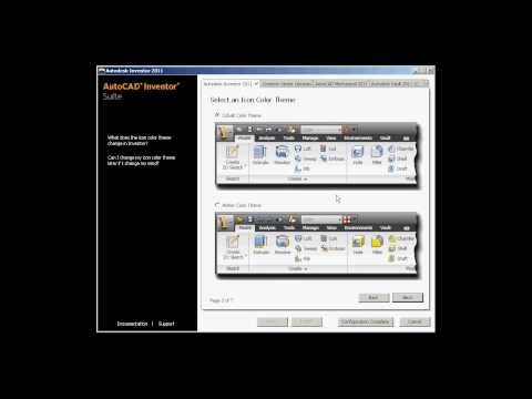 Stand-Alone Install of Autodesk Inventor 2011 products