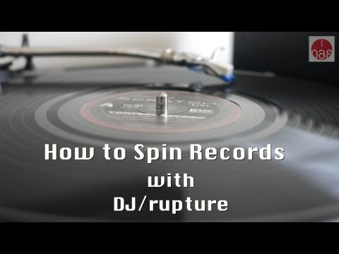 Studio 360: Kurt Andersen Learns How to Spin Records with DJ /rupture