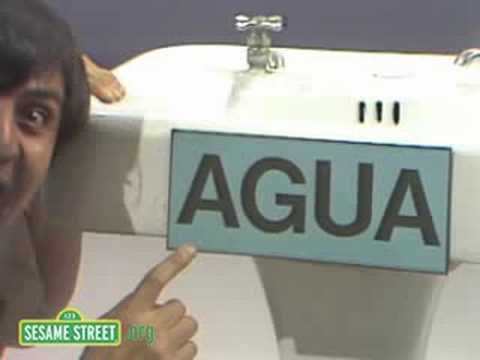 Sesame Street: Luis Looks For Agua