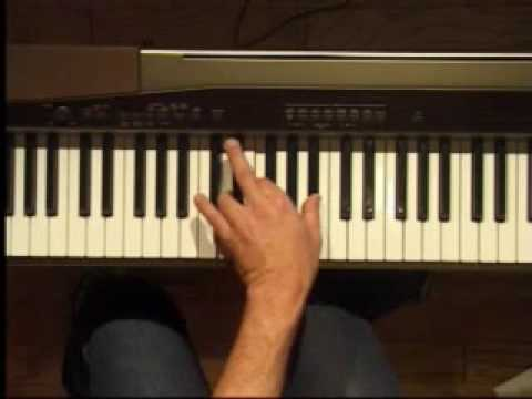 Piano Lesson - Bb Major Triad Inversions (Left Hand)