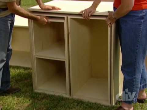 Nesting Plywood Storage Boxes-DIY
