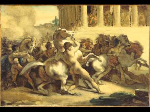 The Race of the Riderless Horses, Théodore Géricault