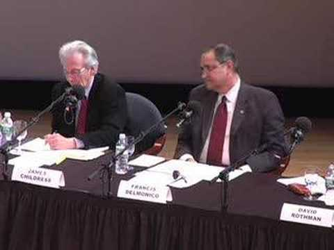 Organ Transplant Debate: Q & A, part 3 (10 of 13)