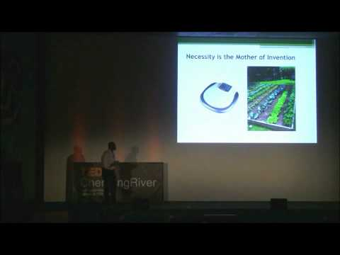 TEDxChemungRiver - Gabriel Ankamafio-Adjei - Patents, Market Share, and Niches