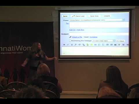 TEDxCincinnatiWomen - Krista Neher-How to Save 21,900 Minutes a Year