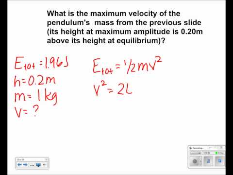 Simple Harmonic Motion Presentation #29