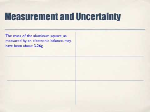 Using Measurements to Describe Matter