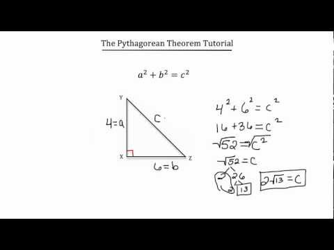Pythagorean Theorem-Textbook Tactics