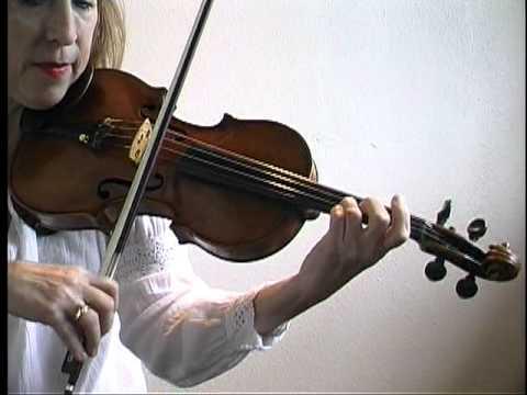 """Song Demonstration - """"Ashokan Farewell"""" on Violin"""
