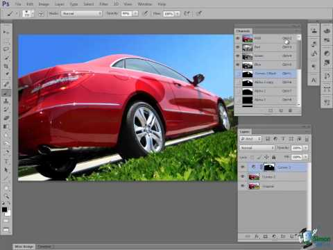 Photoshop CS6 Tutorial: Introduction to Layers - Part 3 - Layer Masks