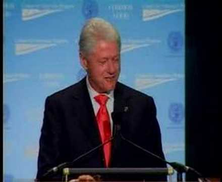 President Clinton at CAP's Common Good Conference Part 1