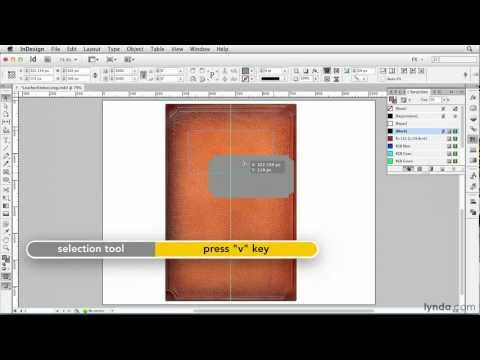 Simulating leather with bevel and emboss | lynda.com, InDesign FX series