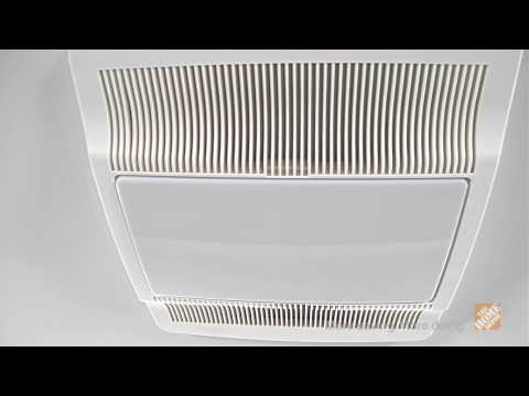 NuTone UltraSilent Fan QTN80L/E: Light and Efficient - The Home Depot