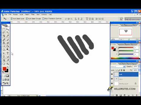Photoshop CS3 Basics - Layers Part 1
