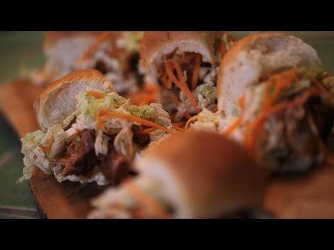 Pulled Pork Sliders Recipe (How To Make) || Kin Eats