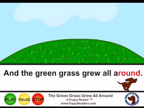 The Green Grass Grew All Around:  Chilren's Animated Song Book