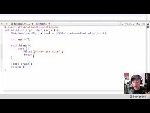 Objective C Programming Tutorial - 21 - switch