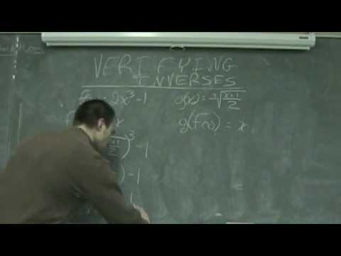 Verifying Inverses