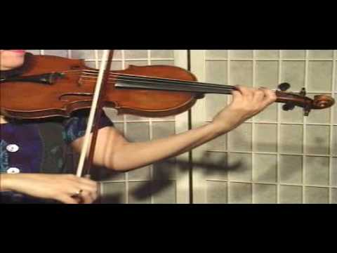"Violin Lesson - Song Demonstration - ""Minuet #1"""