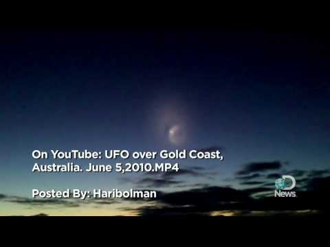 UFO Over Gold Coast Explained