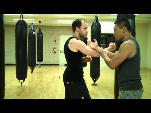 Wing Chun - Sheath The Sword