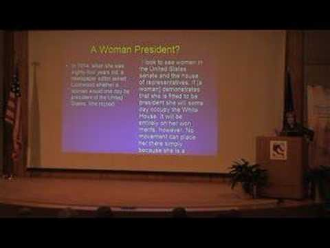 The Woman Who Would Be President, Part 5 (of 7)
