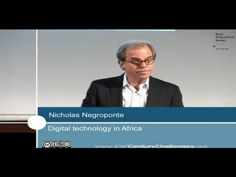 Nicholas Negroponte - 21st Century Challenges series