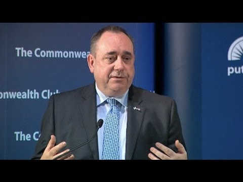 Salmond: Scotland vs. Ireland's Independence Movement
