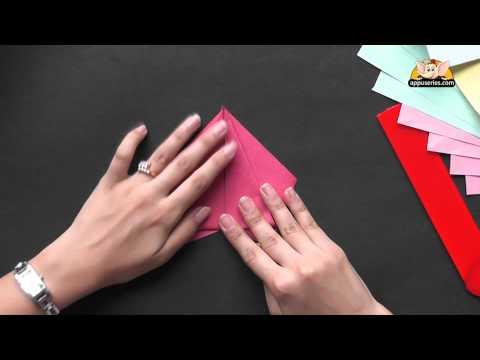 Origami - Make a beautiful Rose (HD)