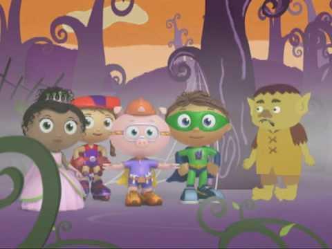 SUPER WHY! | Alpha Pigs Pumpkin game | PBS KIDS