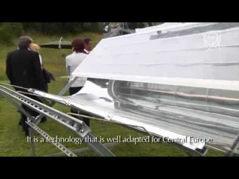 The UHV Solar Thermal Collector from SRB Energy