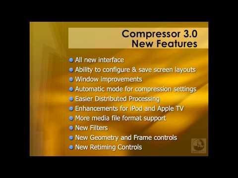 Understanding new Compressor 3 features | lynda.com