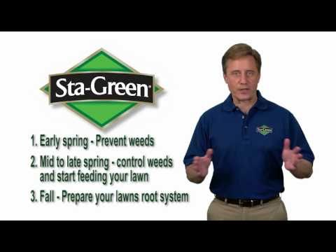 Step 3: Prepare Grass for Winter - Sta-Green Lawn Care Program
