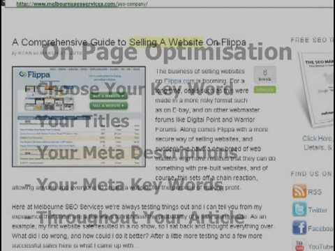 SEO For Blogs Part 5 - Some More GEMS About On Page Optimization Revealed