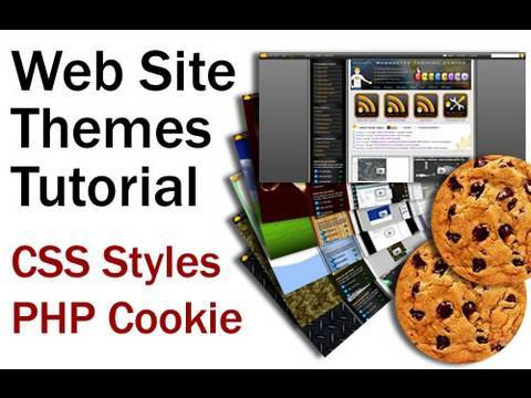 Website Design Theme Application Tutorial Using PHP Cookies to Change CSS Style Sheets