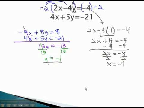 Systems of Equations - Addition with Multiplication - YouTube.mp4