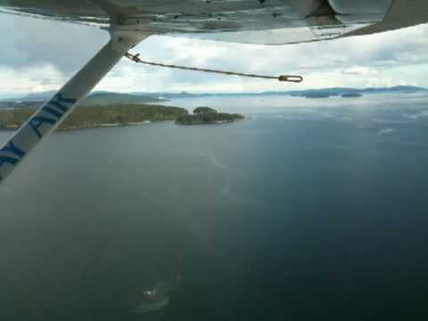 Vancouver islands from seaplane